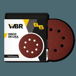 WAGNER DISCO DE LIXA 225MM GRÃO 150 - 8 FUROS