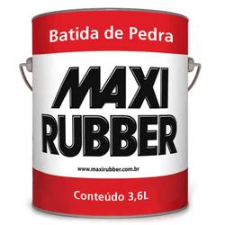 MAXI RUBBER BATIDA DE PEDRA PRETO 3,6L