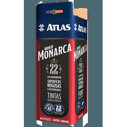 ATLAS ROLO MONARCA 23CM LÃ SINTÉTICA 22MM - TINTAS PALMARES