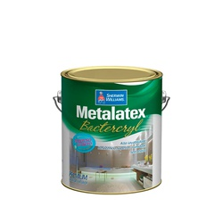 METALATEX BACTERKILL SEMI BRILHO BRANCO 3,6L - TINTAS PALMARES