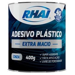 RHAI ADESIVO PLASTICO EXTRA MACIO CINZA 400GR