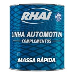 MASSA RAPIDA CINZA 900ML DA RHAI