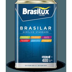BRAZILUX TINTA ACRÍLICA PARA GESSO 18L - TINTAS SÃO MIGUEL
