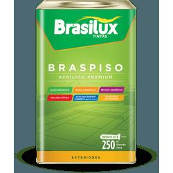 BRASIPISO ACRÍLICA FOSCO BRANCO 18L - TINTAS SÃO MIGUEL