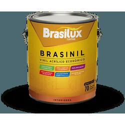 BRASINIL ACRÍLICO ECONÔMICO BRANCO FOSCO 900ML - TINTAS SÃO MIGUEL