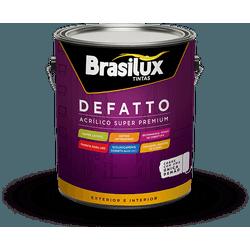 Tinta Acrílica Super Premium Defatto Brasilux 3,6L - TINTAS SÃO MIGUEL
