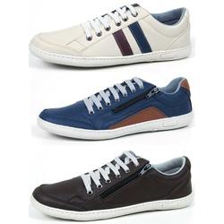 Kit 3 Pares Sapatenis Top Franca Shoes Casual - Top Franca Shoes | Calçados confortáveis em Couro
