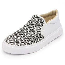 Sapatênis Feminino Top Franca Shoes Iate Branco - Top Franca Shoes | Calçados confortáveis em Couro