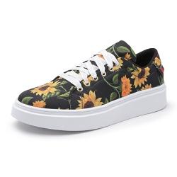 Sapatênis Feminino Top Franca Shoes Floral Preto L... - Top Franca Shoes | Calçados confortáveis em Couro