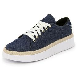 Sapatênis Feminino Top Franca Shoes Jeans - Top Franca Shoes | Calçados confortáveis em Couro