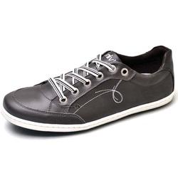 Sapatênis Masculino Top Franca Shoes Cafe - Top Franca Shoes | Calçados confortáveis em Couro