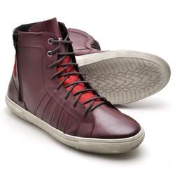 Tênis Cano Alto Reta Oposta - Top Franca Shoes | Calçados confortáveis em Couro