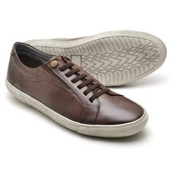 Tênis Casual Reta Oposta - Top Franca Shoes | Calçados confortáveis em Couro