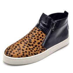Bota Botinha Feminino Top Franca Shoes Hiate Verni... - Top Franca Shoes | Calçados confortáveis em Couro