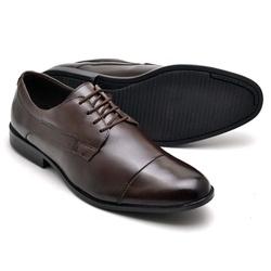 Sapato Social Reta Oposta - Top Franca Shoes | Calçados confortáveis em Couro