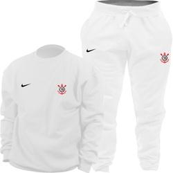 Kit Blusa Moletom Gola Careca Nike Corinthians + C... - Top Franca Shoes | Calçados confortáveis em Couro