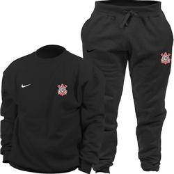 Kit Blusa Moletom Gola Careca Nike Corinthians + C... - Top Franca Shoes   Calçados confortáveis em Couro