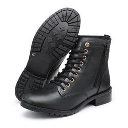 Bota Feminina em Couro - Top Franca Shoes | Calçados confortáveis em Couro