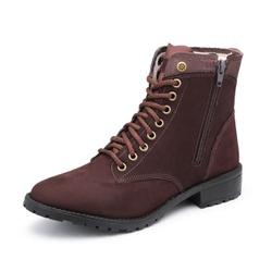 Bota Feminina em Couro - Diconfort Calçados | Calçados confortáveis e anatômicos