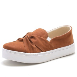 Tenis Sapatenis Feminino Top Franca Shoes Slip On ... - Top Franca Shoes | Calçados confortáveis em Couro
