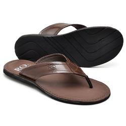 Chinelo Reta Oposta - Top Franca Shoes | Calçados confortáveis em Couro