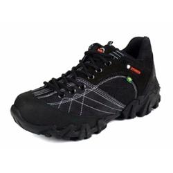 Tenis Coturno Adventure Azimute Brasil Preto - Top Franca Shoes | Calçados confortáveis em Couro