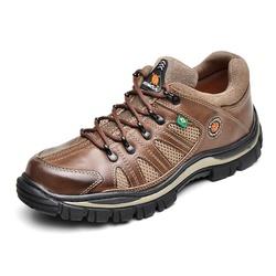 Tenis Coturno Adventure Azimute Brasil Caki - Top Franca Shoes | Calçados confortáveis em Couro