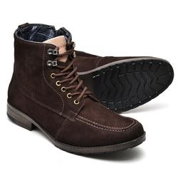 Coturno Casual Reta Oposta - Top Franca Shoes | Calçados confortáveis em Couro