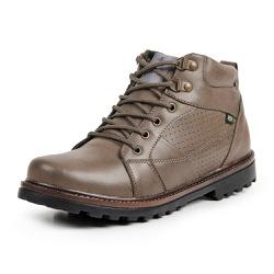 Bota Coturno Casual Masculino Top Franca Shoes Beg - Top Franca Shoes | Calçados confortáveis em Couro
