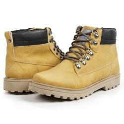 Bota Coturno Casual Masculino Top Franca Shoes Mos... - Top Franca Shoes | Calçados confortáveis em Couro