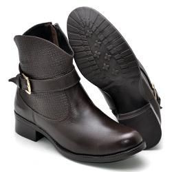 Bota Country Montaria Feminina Top Franca Shoes Ca... - Diconfort Calçados | Calçados confortáveis e anatômicos