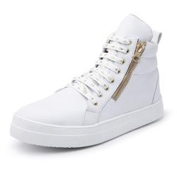 Botinha Feminina Top Franca Shoes Cano Médio Branc... - Top Franca Shoes | Calçados confortáveis em Couro