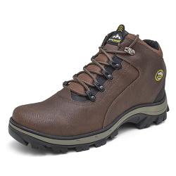 Bota Coturno Adventure Top Franca Shoes Chocolate - Top Franca Shoes | Calçados confortáveis em Couro