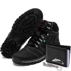 Kit Bota Coturno Adventure + Carteira + Abridor Pr... - Top Franca Shoes   Calçados confortáveis em Couro