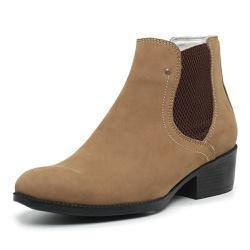 Bota Botina Country Feminina Top Franca Shoes Bege - Top Franca Shoes | Calçados confortáveis em Couro
