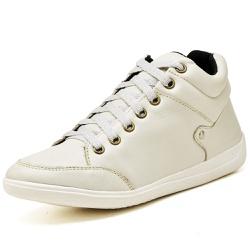 Bota Botinha Casual Top Franca Shoes Marfim - Top Franca Shoes | Calçados confortáveis em Couro
