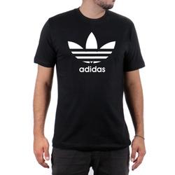 Camiseta Algodão Adidas Preta - Top Franca Shoes | Calçados confortáveis em Couro