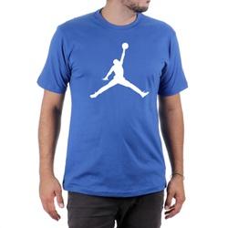 Camiseta Algodão Jordan Azul - Top Franca Shoes | Calçados confortáveis em Couro
