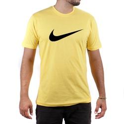 Camiseta Algodão Nike Amarelo - Top Franca Shoes | Calçados confortáveis em Couro