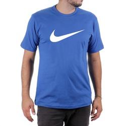 Camiseta Algodão Nike Azul - Top Franca Shoes | Calçados confortáveis em Couro