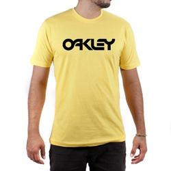 Camiseta Algodão Oakley Amarelo - Top Franca Shoes | Calçados confortáveis em Couro