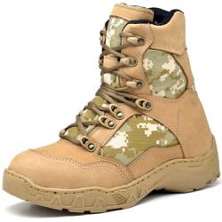 Bota Coturno Militar Top Franca Shoes Desert - Top Franca Shoes | Calçados confortáveis em Couro