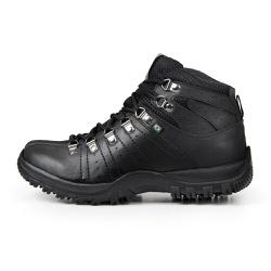 Bota Coturno Casual Masculino Top Franca Shoes Pre... - Top Franca Shoes | Calçados confortáveis em Couro