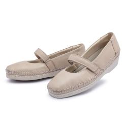Sapato Sapatilha Top Franca Shoes Boneca Marfim - Top Franca Shoes | Calçados confortáveis em Couro