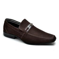 Sapato Social Masculino Couro Marrom - Top Franca Shoes | Calçados confortáveis em Couro