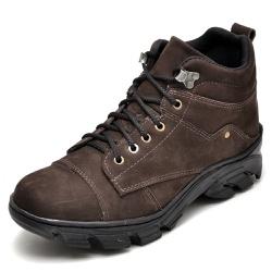 Bota Coturno Adventure Masculino Top Franca Shoes ... - Top Franca Shoes | Calçados confortáveis em Couro