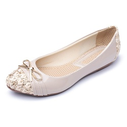 Sapatilha Feminina Confortável Com Bridão e Verniz... - Top Franca Shoes | Calçados confortáveis em Couro