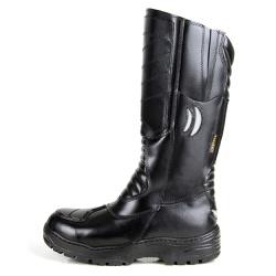 Bota Coturno Militar Panther Bombeiro Samu Preto - Top Franca Shoes | Calçados confortáveis em Couro