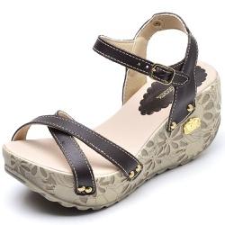 Sandália Feminina Betina Beker Plataforma AnaBela ... - Diconfort Calçados | Calçados confortáveis e anatômicos