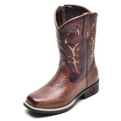 Bota Country Texana Infantil Top Franca Shoes Cast... - Top Franca Shoes | Calçados confortáveis em Couro